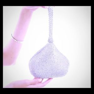 Hershey KISS Crystal Wristlet clutch handbag purse